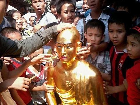 di sản, chùa Chân Long, tượng Phật, tin đồn