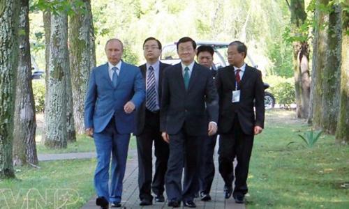 TT Putin: Quan hệ Nga - Việt vô tư, không vụ lợi