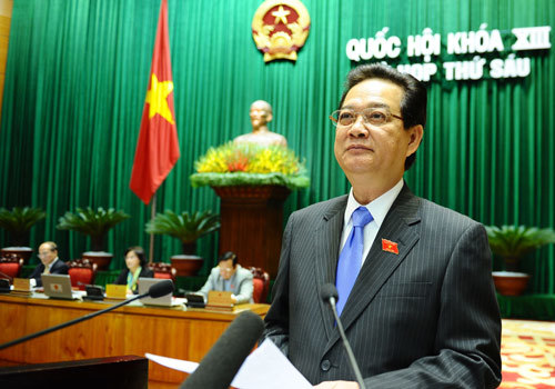 Trước giờ miễn nhiệm, PTT Nguyễn Thiện Nhân không phát biểu