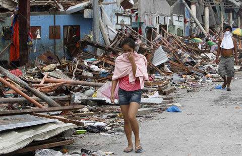 động đất, Haiyan, Philippines, Cebu