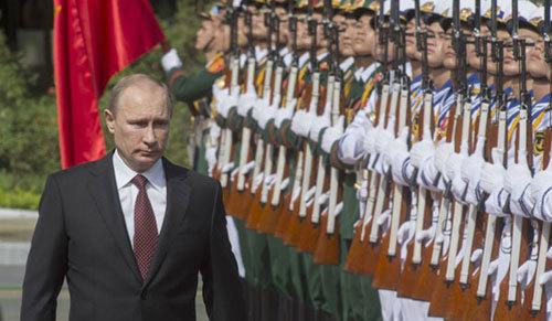 Nga, Putin