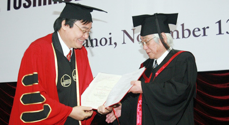 giáo sư Nhật, kẻ trộm, Nobel Vật lý, Toshihide Maskawa,  ĐH Nagoya