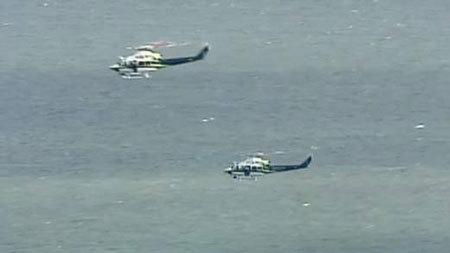 Hành khách rơi khỏi máy bay, ngã nhào xuống biển