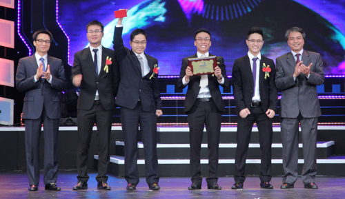 Nhân tài Đất Việt, giải nhất, CNTT