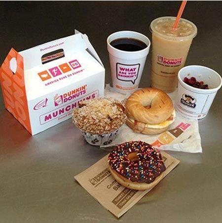 đại gia, cà phê Mỹ, Dunkin' Donuts, Frozen Dunkaccino, sữa ít béo, latte, cappuccino