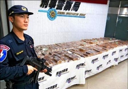 ma túy, Đài Loan, buôn lậu, hải quan