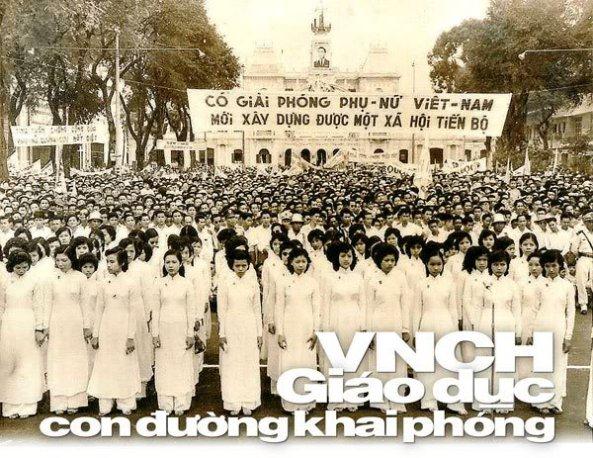Những hình ảnh về giáo dục miền Nam trước 1975