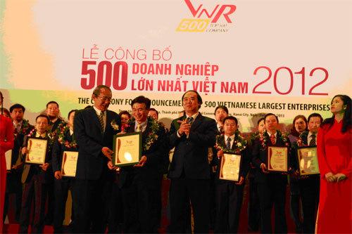 Công bố BXH 500 doanh nghiệp lớn nhất VN năm 2013