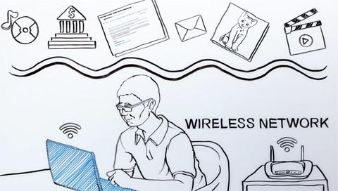 Wi-Fi, bảo mật, an ninh, mạng không dây, hacker, tin tặc, đám mây, laptop, máy tính bảng
