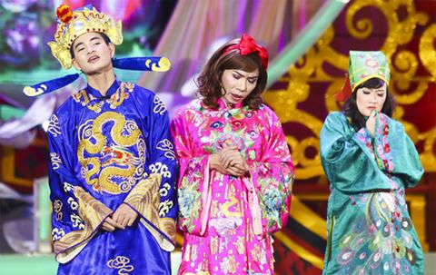 Vân Dung, Chí Trung, Tự Long, Quang Thắng, Xuân Bắc