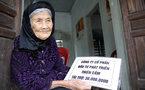'Siêu dự án' trả tiền hỗ trợ cho mẹ liệt sỹ 103 tuổi