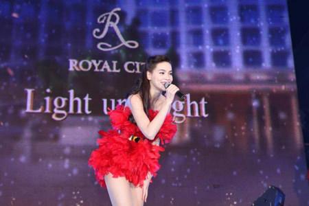 cây thông, Giáng sinh, kỉ lục, Royal City, ngôi sao, ca nhạc
