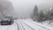 Tuyết phủ dày 10cm tại Sa Pa