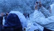 Mê mải với mưa tuyết tại Sa Pa