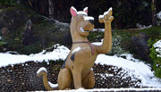 Ngắm những con giáp độc đáo trong tuyết trắng Sa Pa