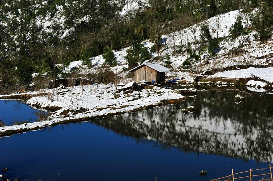 Sa Pa, tuyết phủ, hình ảnh, tuyệt đẹp, chưa từng có,