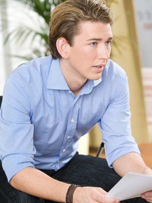 Bộ trưởng, trẻ tuổi, đẹp trai, Áo, Ngoại trưởng Áo, Sebastian Kurz