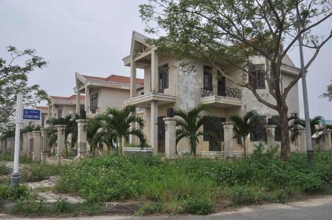 Khu biệt thự bị bầu Hiển bỏ hoang ở Đà Nẵng