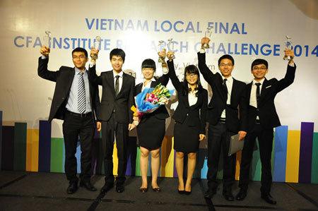 ĐH Ngoại thương, vô địch, cuộc thi ,phân tích, đầu tư, VFM, CFA