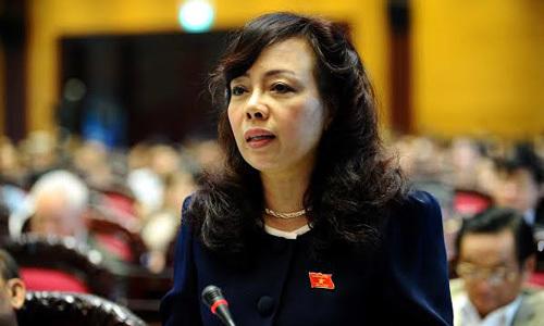 bộ trưởng y tế, Cát Tường, chất vấn, Nguyễn Sỹ Cương