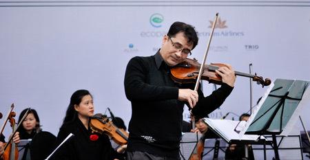 Nghe nhạc cổ điển giữa 'thành phố Xanh' Ecopark