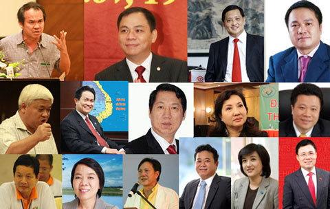 Đếm túi tiền những gia đình giàu nhất Việt Nam 2013