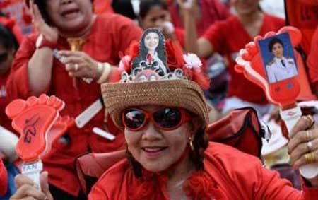 Thái Lan, biểu tình