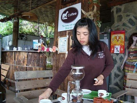 cà phê chồn, Đà Lạt