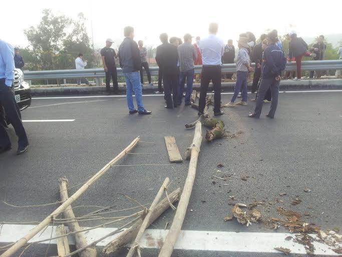 chặn xe, rải đinh, Bộ trưởng, cao tốc, Nội Bài - Lào Cai, vi phạm pháp luật.