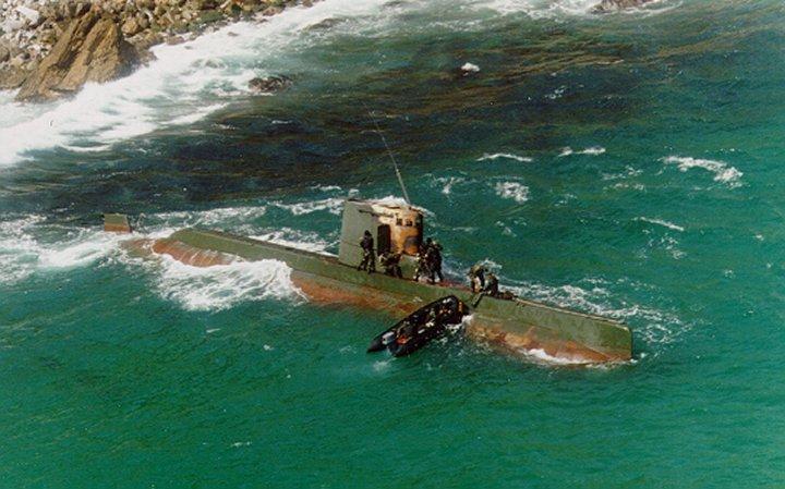 Khám phá dàn tàu ngầm của Triều Tiên