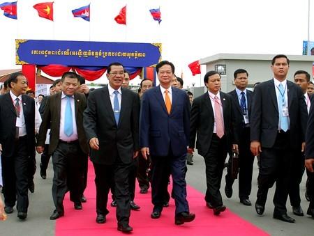 hữu nghị, hợp tác, Việt Nam, Campuchia, Thủ tướng, kinh tế