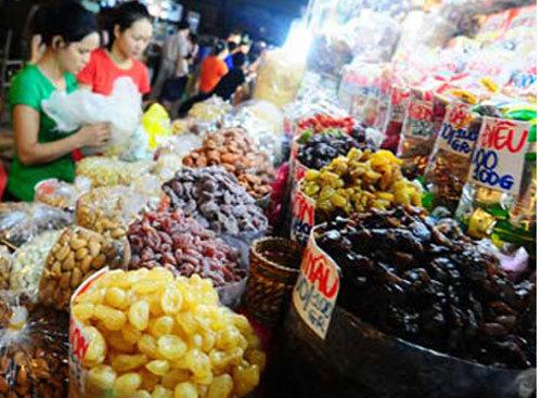 hoa-quả, trái-cây, Trung-Quốc, nhập-lậu, hàng-Tàu, đội-lốt, hướng-dương, ô-mai, ung-thư, teo-não, hóa-chất, nho-khô, táo, xí-muội