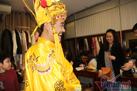 Vân Dung, Tự Long, Xuân Bắc, Quang Thắng, Công Lý, Táo Quân 2014