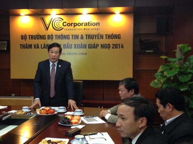 Bộ trưởng, Nguyễn Bắc Son, Bộ TT&TT