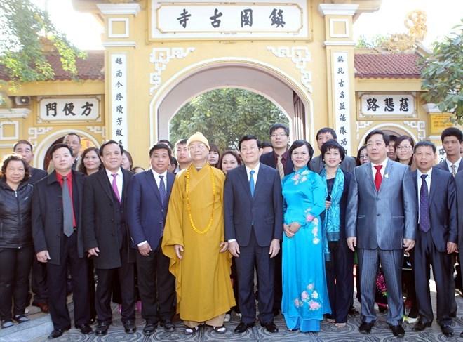 Chủ tịch nước, Trương Tấn Sang