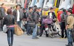 Sinh viên ùn ùn rời đô về quê đón Tết