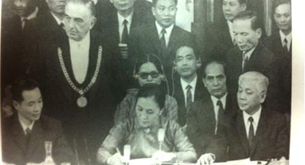 Ông thuộc về thế hệ ngoại giao Hồ Chí Minh