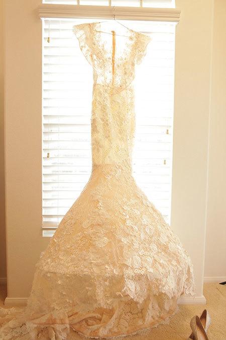 Ngọc Quyên, đám cưới, váy cưới khủng