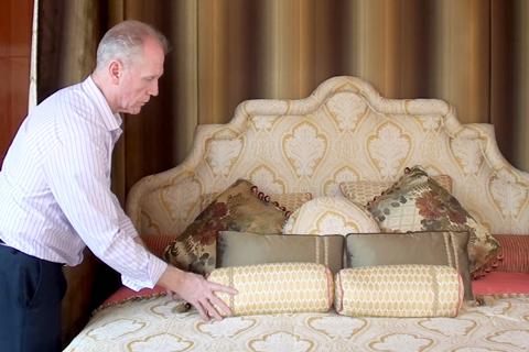 """Cận cảnh, """"siêu giường"""", 6 tỷ, đại gia, Lê Ân"""