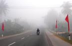 Sương mù dày đặc hiếm gặp ngày đầu năm mới