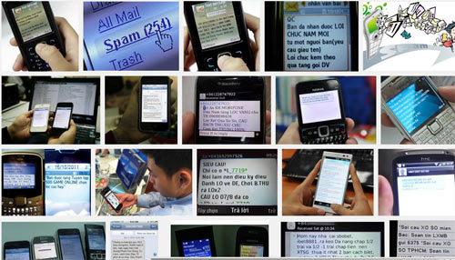 tin nhắn, rác, lừa đảo, SMS, bùng phát, Tết, Giáp Ngọ,