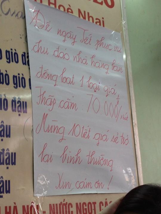 Chặt chém như ở Hà Nội: Nỗi ám ảnh về dân thanh lịch