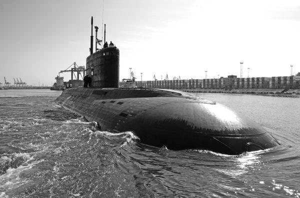 Tàu ngầm TP Hồ Chí Minh lên đường về VN