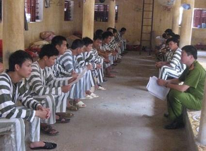 Cuộc sống trong trại giam Dương Chí Dũng, Dương Tự Trọng