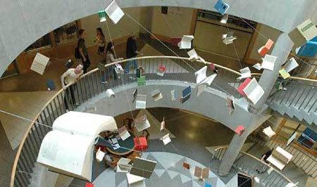 Những thiết kế lạ mắt trong trường đại học