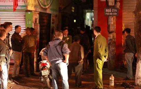 Nhân chứng, giết vợ, chiều 30 tết, Hà Nội, tội ác, Đội Cấn