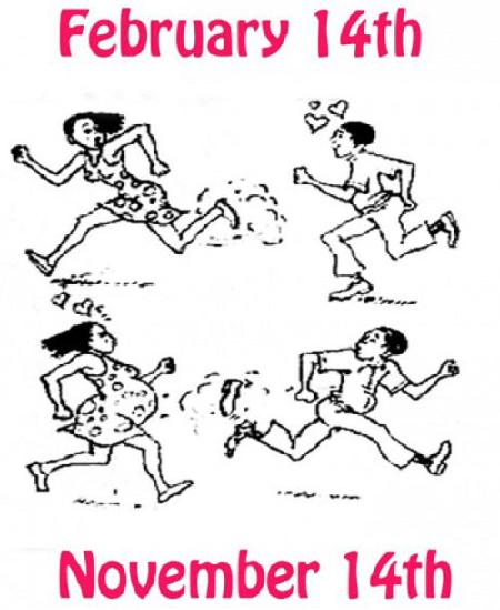 Valentine, ảnh chế, hài hước, FA, Lễ Tình Nhân
