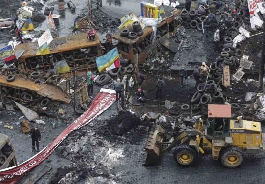 Ukraina hạ nhiệt