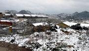 Tuyết lại rơi ở vùng núi đá Mèo Vạc