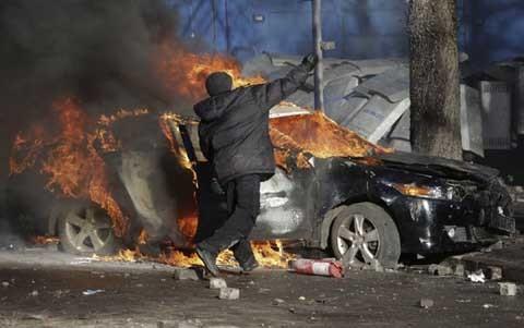 Ukraina, Kiev, Victor Yanukovich, Kremlin,